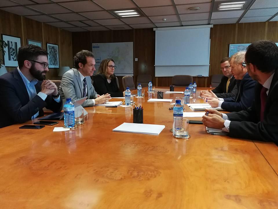 Imatge de la reunió mantinguda aquest passat dilluns.