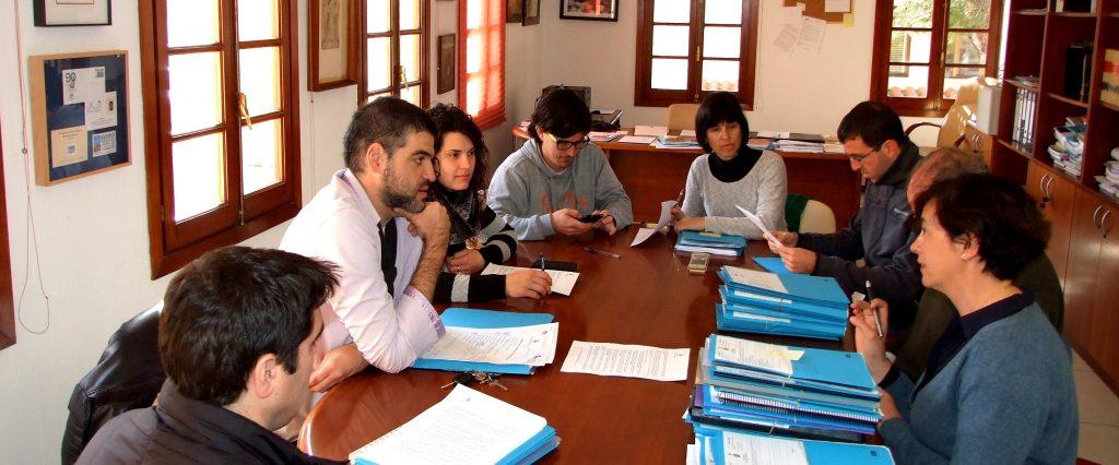 Reunió de Junta de govern a l'Ajuntament de Ciutadella