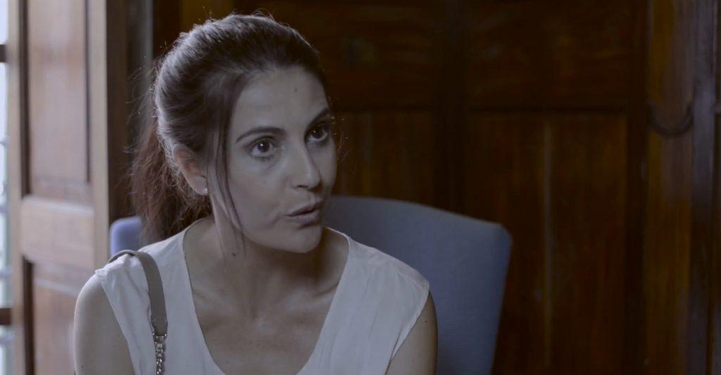 Anna Anglada en una imatge de 'Silencio'