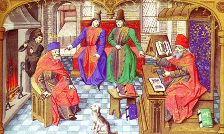Pintura d'un judici durant l'edat mitjana – El Iris.cat – Digital  d'informació i cultura