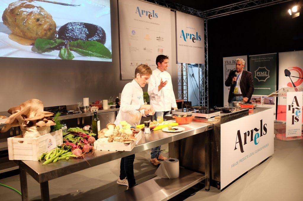 Mostra de cuina a la Fira Arrels