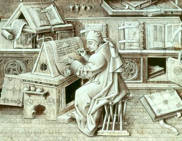 Escrivà medieval