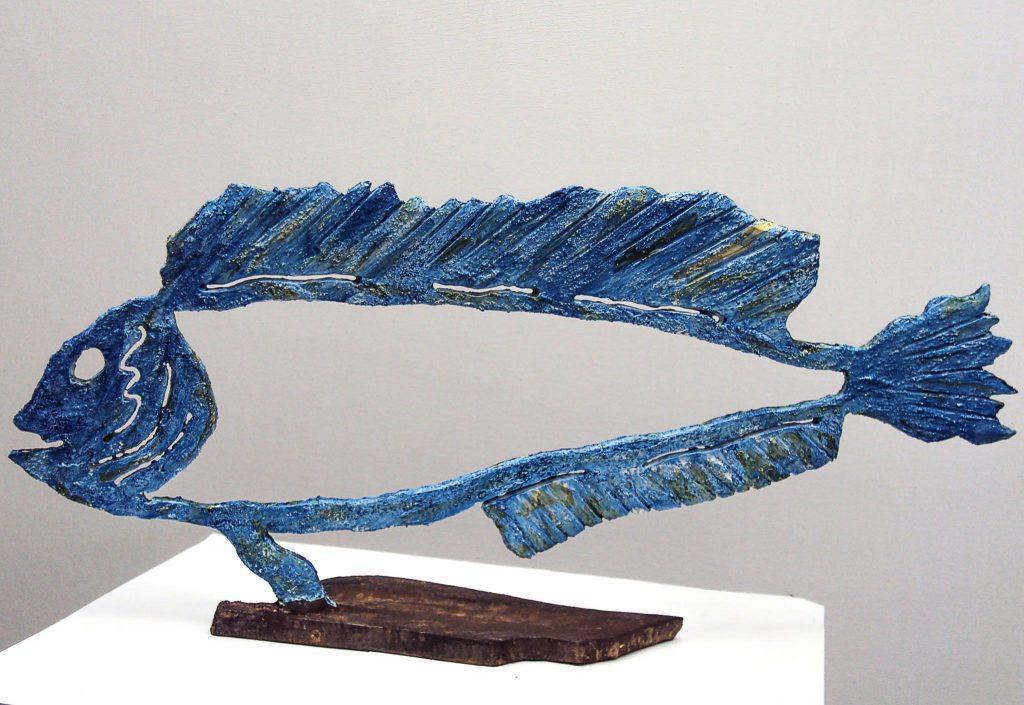 Escultura de Maties Sansaloni.
