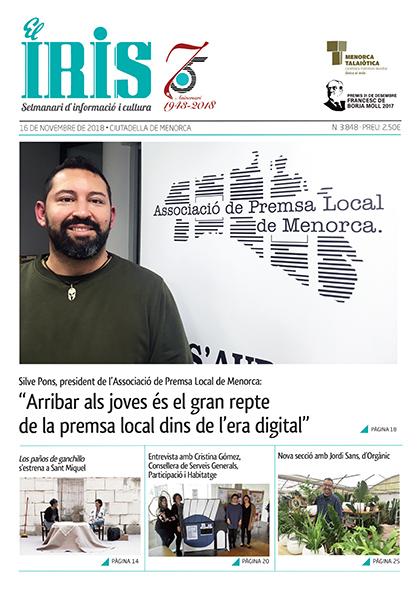 El Iris, portada 16 de Novembre