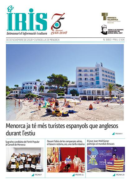 El Iris, portada 30 de Novembre