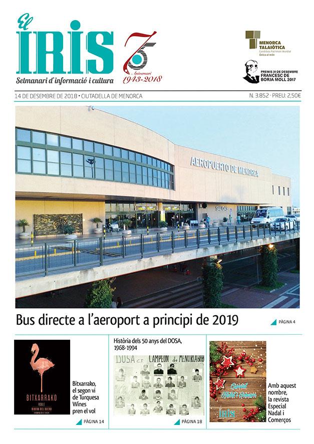 El Iris, portada 14 de Desembre