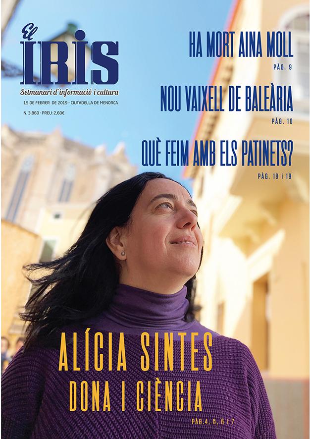 El Iris, portada 15 de Febrer 2019