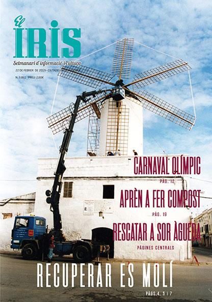 El Iris, portada 22 de Febrer 2019