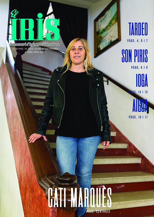El Iris, portada 22 de Març 2019