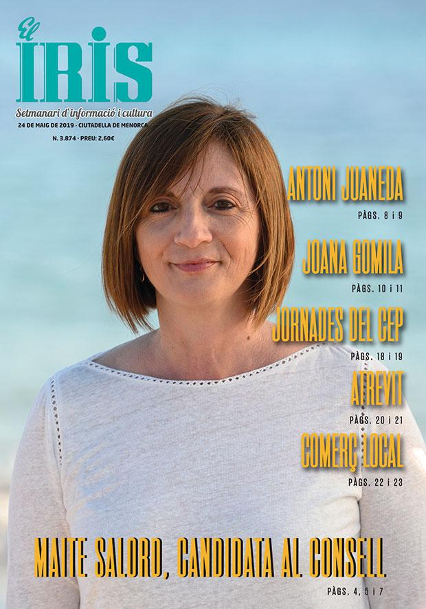 El Iris, portada 24 de Maig 2019