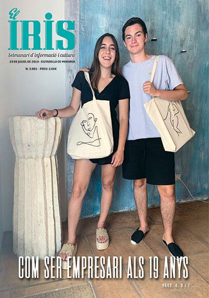 El Iris, portada 19 de Juliol 2019