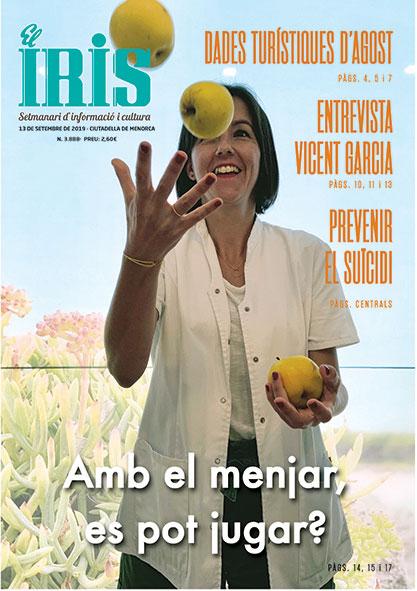 El Iris, portada 13 de Setembre 2019